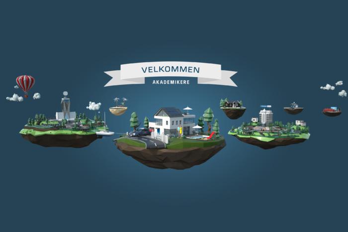 Danske Bank, kampanje med presentasjonsverktøy og animasjonsfilm