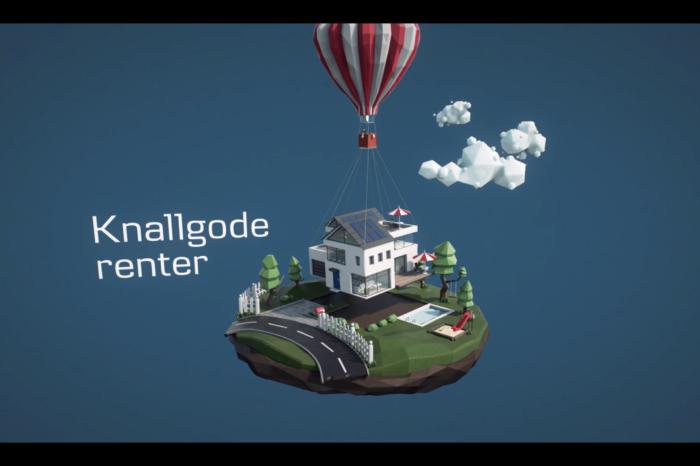 Kampanje for Danske Bank med presentasjonsverktøy og animasjonsfilm