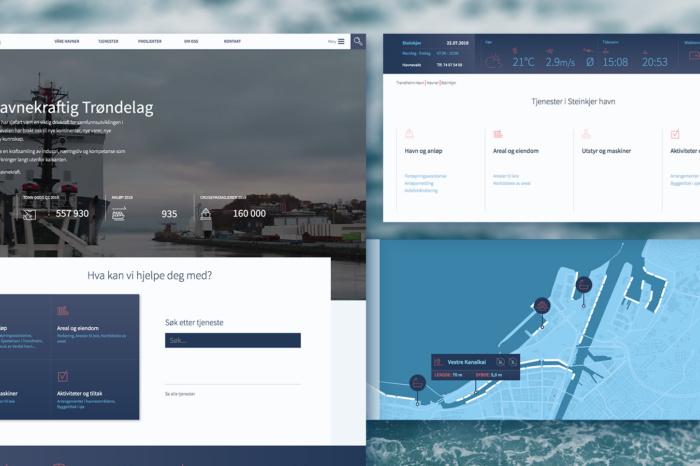 Ny nettside for Trondheim Havn
